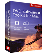 Aiseesoft DVD Software Toolkit for Mac boxshot