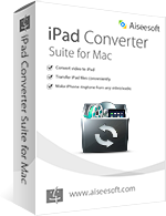 Aiseesoft iPad Converter Suite for Mac boxshot