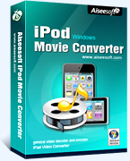 >75% Off Coupon code Aiseesoft iPod Movie Converter