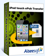 Aiseesoft iPod touch ePub Transfer boxshot