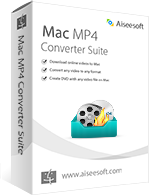 Aiseesoft Mac MP4 Converter Suite boxshot