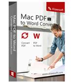 Aiseesoft Mac PDF to Word Converter boxshot