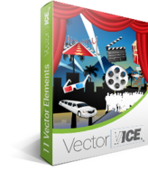 Hollywood Vector Pack – VectorVice discount coupon