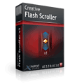 >10% Off Coupon code Creative Flash Scroller