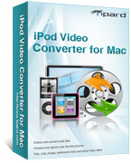 Tipard iPod Video Converter for Mac boxshot