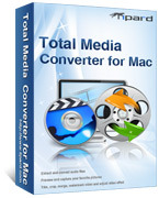 Tipard Total Media converter for Mac discount coupon