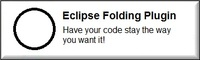 Eclipse Folding Plugin Personal discount coupon