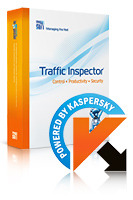 20% OFF Traffic Inspector+Traffic Inspector Anti-Virus powered by Kaspersky (1 Year) Gold 10