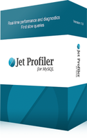 Jet Profiler for MySQL, Professional Version boxshot