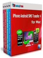Backuptrans iPhone Android SMS Transfer + for Mac (Business Edition) discount coupon