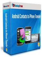 Backuptrans Android Contacts to iPhone Transfer (Personal Edition) discount coupon
