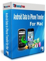 Backuptrans Android Data to iPhone Transfer for Mac (Family Edition) discount coupon