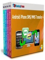 Backuptrans Android iPhone SMS/MMS Transfer + (Family Edition) discount coupon