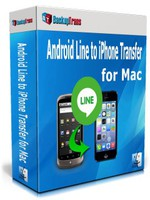 Backuptrans Android Line to iPhone Transfer for Mac (Family Edition) discount coupon