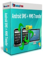 Backuptrans Android SMS + MMS Transfer (Family Edition) discount coupon