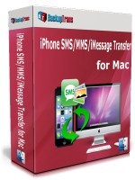 Backuptrans iPhone SMS/MMS/iMessage Transfer for Mac (Family Edition) discount coupon