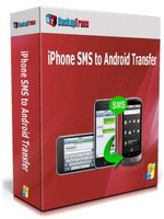 Backuptrans iPhone SMS to Android Transfer (One-Time Usage) discount coupon