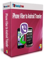 Backuptrans iPhone Viber to Android Transfer (Family Edition) discount coupon