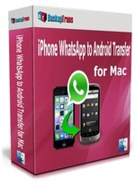 Backuptrans iPhone WhatsApp to Android Transfer for Mac(Family Edition) discount coupon