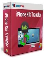 Backuptrans iPhone Kik Transfer (Personal Edition) discount coupon