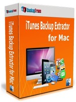 Backuptrans iTunes Backup Extractor for Mac (Personal Edition) discount coupon