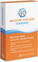 screenshot of Recovery Explorer Standard (for Windows) - Personal License
