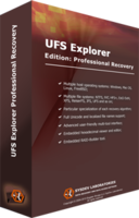 screenshot of UFS Explorer Professional Recovery (version 5 for Windows) - Personal License