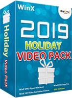 WinX 2019 Holiday Video Pack discount coupon