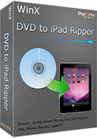 WinX DVD to iPad Ripper discount coupon