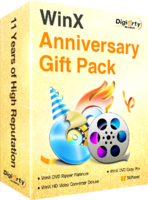 WinX Anniversary Gift Pack discount coupon