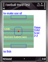 30% OFF German-English Dict With Football Game