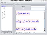 30% OFF German-Arabic Joyful Dictionary With Word Test