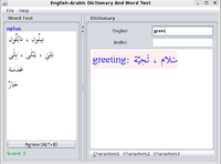 30% OFF English-Arabic Joyful Dictionary With Word Test