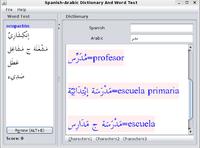 30% OFF Spanish-Arabic Joyful Dictionary With Word Test