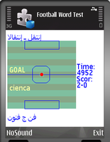30% OFF Spanish-Arabic Dict With Football Game