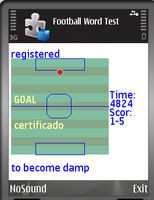 30% OFF Spanish-English Dict With Football Game