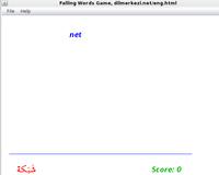 30% OFF Desktop English Arabic Falling Words Game