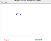 30% OFF Desktop English German Falling Words Game