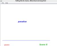 30% OFF Desktop English Spanish Falling Words Game