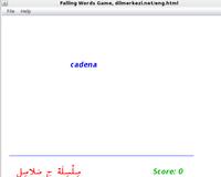 30% OFF Desktop Spanish Arabic Falling Words Game