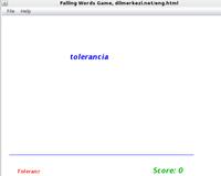 30% OFF Desktop Spanish German Falling Words Game