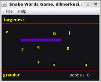 30% OFF English Spanish Snake Game