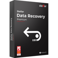 Stellar Data Recovery Windows Premium+  boxshot