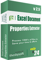 [>15% Off Coupon code] Excel Document Properties Extractor