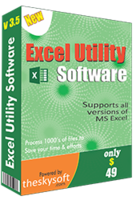 Excel Utility Software discount coupon