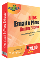 Files Email and Phone Number Extractor discount coupon