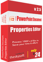 PowerPoint Document Properties Editor discount coupon