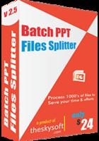 Batch PPT Files Splitter discount coupon