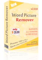 Word Picture Remover discount coupon
