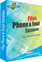 Files Phone and Email Extractor discount coupon